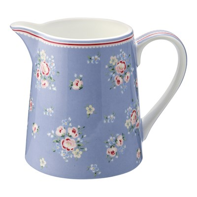 GreenGate Mjölkkanna Nicoline Dusty blue