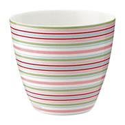 GreenGate Lattemugg Silvia Stripe White