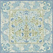 William Morris & Co Tapet Wilhelmina Indigo