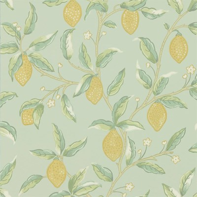 William Morris & Co Tapet Lemon Tree Sage