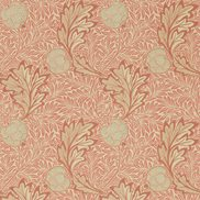 William Morris & Co Tapet Apple Rust Gold