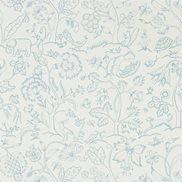 William Morris & Co Tapet Middlemore Cornflower Chalk