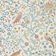 William Morris & Co Tapet Newill Indigo Suffran