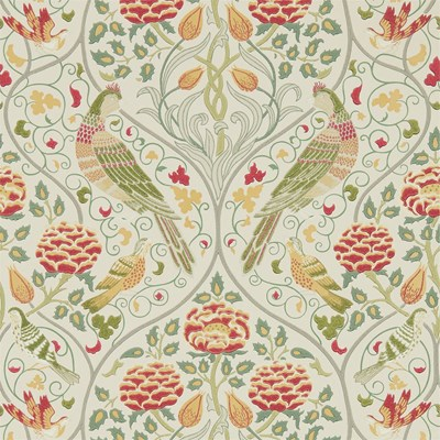 William Morris & Co Tapet Seasons By May Linen