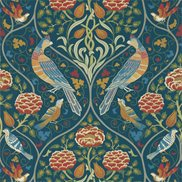 William Morris & Co Tapet Seasons By May Indigo