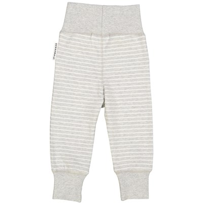 Geggamoja Byxa Stripe Light grey