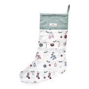 GreenGate Julstrumpa Jingle bell White