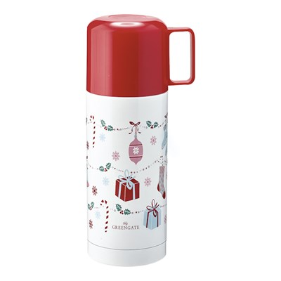 GreenGate Termos Jingle bell White 350 ml