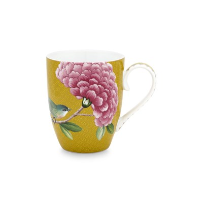 PiP Studio Mugg Blushing Birds Yellow Large