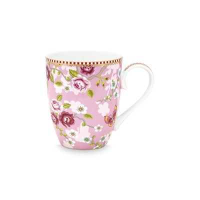 PiP Studio Mugg Chinese Rose Pink Large