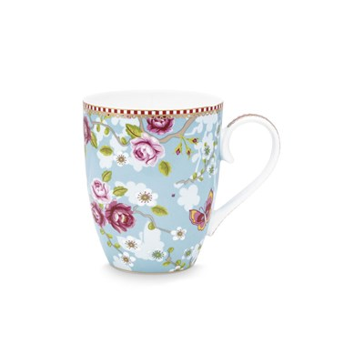 PiP Studio Mugg Chinese Rose Blue Large