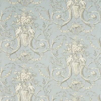 Sanderson Tapet Cherubs Toile Sly/Graphite/Cream