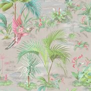 PiP Studio Tapet Palm Scene Grey
