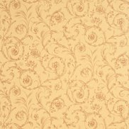 Sanderson Tapet Scroll Coordinate Beige/Cinnamon