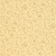 Sanderson Tapet Scroll Coordinate Taupe/Chocolate