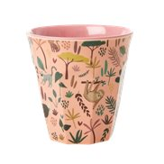 Rice Mugg Jungle Animals Coral Medium