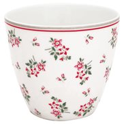 GreenGate Lattemugg Avery White