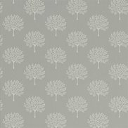 Sanderson Tapet Marcham Tree Grey Birch