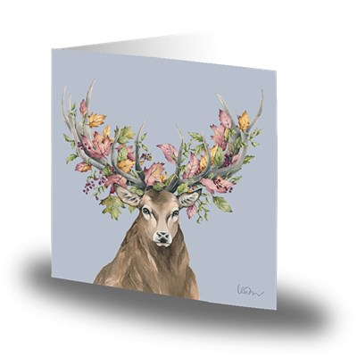 Cards by Jojo Kort Autumn Deer Litet