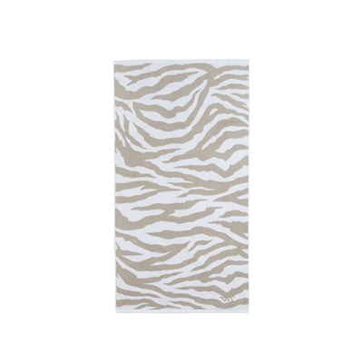 Wilma & Louise Handduk Zebra Light beige 70 x 140