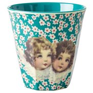Rice Mugg Christmas Angel Blue Medium