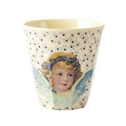Rice Mugg Christmas Angel Creme Medium