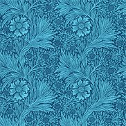 William Morris & Co Tapet Marigold Navy