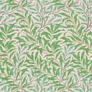 William Morris & Co Tapet Willow Bough Pink/Leaf