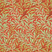 William Morris & Co Tapet Willow Bough Tomato/Olive