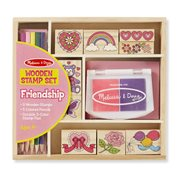 Melissa & Doug Stämpel-set Friendship