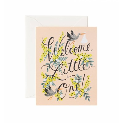 Rifle paper co Kort Welcome Little One
