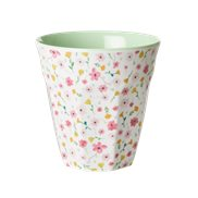 Rice Mugg Easter Flower White Medium