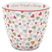 GreenGate Lattemugg Love pastel