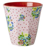 Rice Mugg Vintage Flower Medium