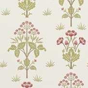 William Morris & Co Tapet Meadow Sweet Rose/Olive