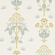 William Morris & Co Tapet Meadow Sweet Gold/Slate