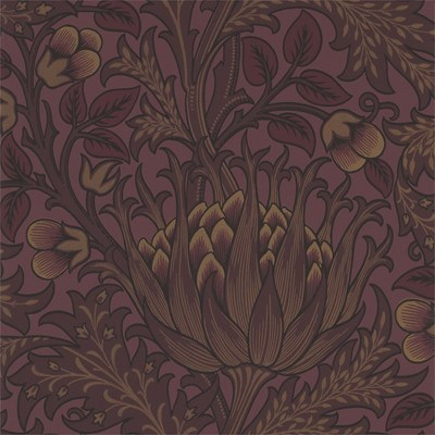 William Morris & Co Tapet Artichoke Wine