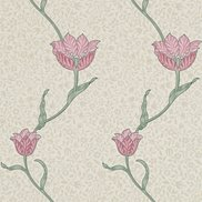 William Morris & Co Tapet Garden Tulip Rose/Thyme