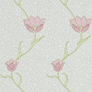 William Morris & Co Tapet Garden Tulip Porcelain/Pink