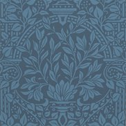 William Morris & Co Tapet Garden Craft Ink