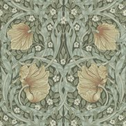 William Morris & Co Tapet Pimpernel Bayleaf/Manilla