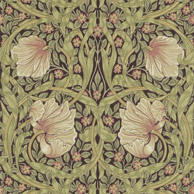 William Morris & Co Tapet Pimpernel Bullrush/Russet