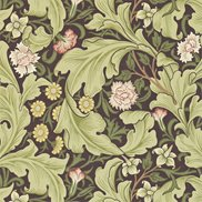 William Morris & Co Tapet Leicester Chocolate/Olive