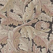 William Morris & Co Tapet Acanthus Terracotta