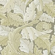 William Morris & Co Tapet Acanthus Stone
