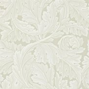 William Morris & Co Tapet Acanthus Chalk