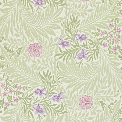 William Morris & Co Tapet Larkspur Olive/Lilac