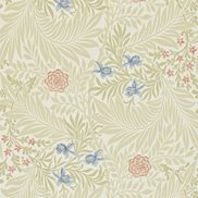 William Morris & Co Tapet Larkspur Manilla/Old Rose