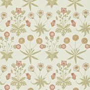 William Morris & Co Tapet Daisy Coral/Manilla