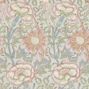 William Morris & Co Tapet Pink & Rose Eggshell/Rose